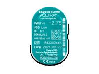 Bausch + Lomb ULTRA for Presbyopia (6 leč) - Predogled blister embalaže