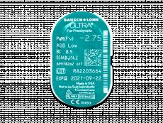 Bausch + Lomb ULTRA for Presbyopia (3 leče) - Predogled blister embalaže