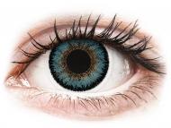 Barvne kontaktne leče brez dioptrije - ColourVUE 3 Tones Aqua - brez dioptrije (2 leči)