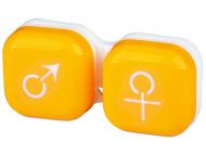 Dodatna oprema za leče - Škatlica man&woman - yellow
