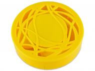 Škatlice za leče z ogledalom - Škatlica z ogledalom - rumena ornament