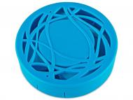 Škatlice za leče z ogledalom - Škatlica z ogledalom - modra ornament