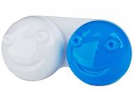 Škatlice za kontaktne leče - Škatlica 3D - blue
