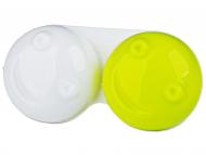 Škatlice za kontaktne leče - Škatlica 3D - yellow