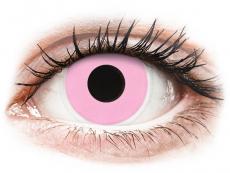 ColourVUE Crazy Lens - Barbie Pink - brez dioptrije (2leči)