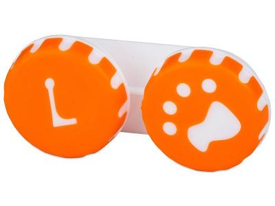 Škatlica Paw orange