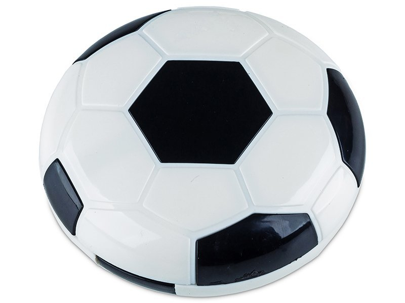 Škatlica z ogledalom Football - black  - Škatlica z ogledalom Football - black