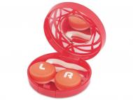 Dodatna oprema - Škatlica z ogledalom - rdeča ornament