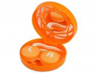Dodatna oprema za leče - Škatlica z ogledalom - oranžna ornament