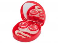 Dodatna oprema za leče - Škatlica z ogledalom Smile - red