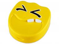 Škatlica z ogledalom Smile - yellow