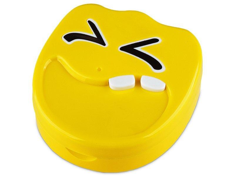 Škatlica z ogledalom Smile - yellow  - Škatlica z ogledalom Smile - yellow