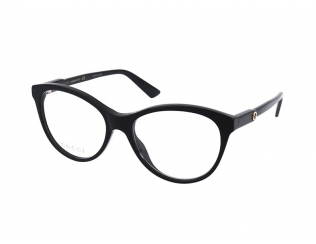 Oval / Elipse okvirji za očala - Gucci GG0486O 001