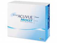 Kontaktne leče Johnson and Johnson - 1 Day Acuvue Moist (180 leč)