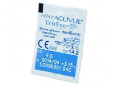 1 Day Acuvue TruEye (180leč) - Predogled blister embalaže