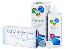 Acuvue Oasys (12 leč) + tekočina Gelone 360 ml