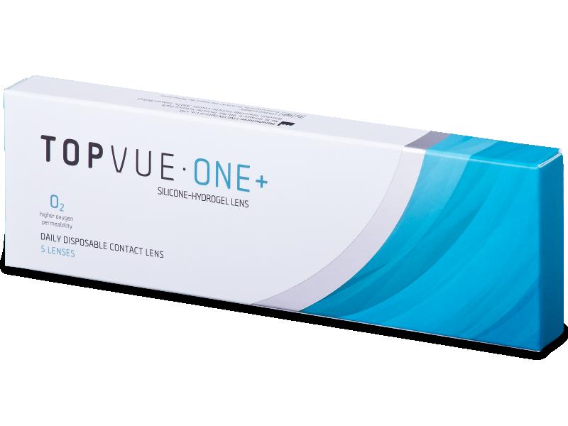 TopVue One+ (5 leč) - Dnevne kontaktne leče