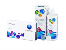 Biofinity XR (3 leče) + tekočina Gelone 360 ml