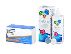 SofLens Toric (3 leče) + tekočina Gelone 360 ml