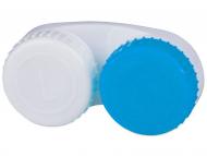 Škatlice za kontaktne leče - Škatlica za leče blue & white L+R