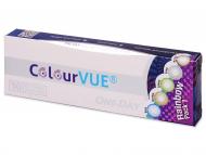 Barvne kontaktne leče - ColourVue One Day TruBlends Rainbow - brez dioptrije (10 leč)