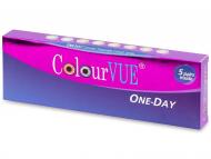 Kontaktne leče Maxvue Vision - ColourVue One Day TruBlends - z dioptrijo (10 leč)