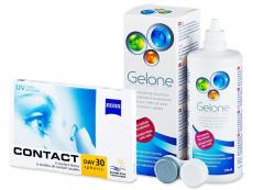 Carl Zeiss Contact Day 30 Spheric (6 leč) + tekočina Gelone 360 ml