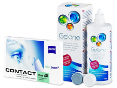 Carl Zeiss Contact Day 30 Compatic (6 leč) + tekočina Gelone 360 ml
