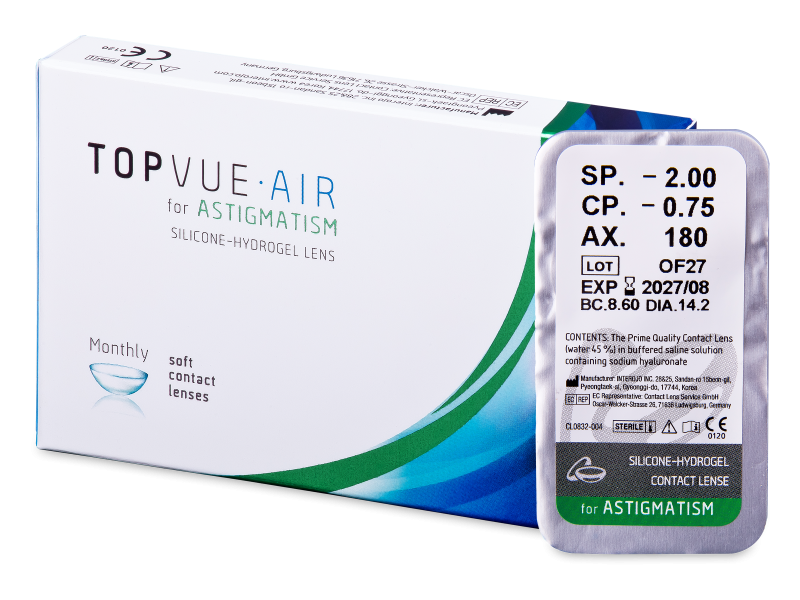 TopVue Air for Astigmatism (1 leča)