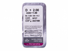 TopVue Air Multifocal (1 leča) - Predogled blister embalaže
