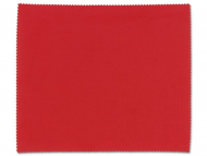 Dodatna oprema - Čistilna krpica za očala - Rdeča