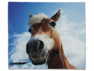 Dodatna oprema za leče - Čistilna krpica za očala - konj