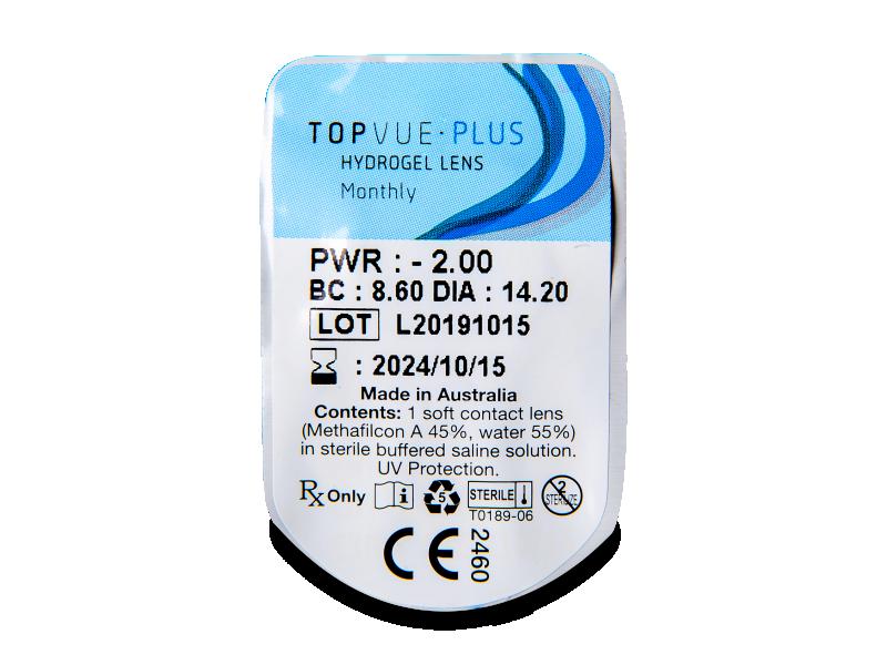 TopVue Plus (6 leč) - Predogled blister embalaže
