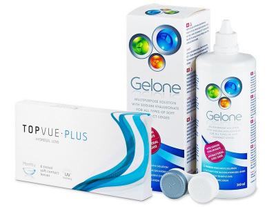 TopVue Plus (6 leč) + tekočina Gelone 360 ml