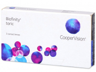 Biofinity Toric (3 leče) - Torične kontaktne leče