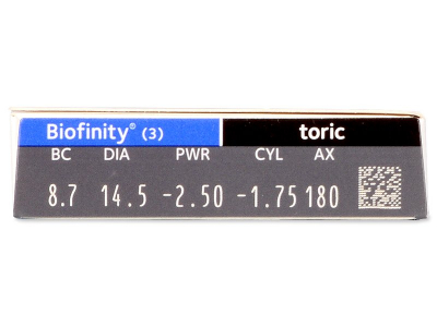 Biofinity Toric (3 leče)