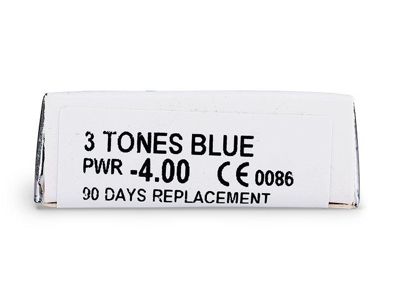 ColourVUE - 3 Tones - Brez dioptrije (2leči) - Predogled lastnosti