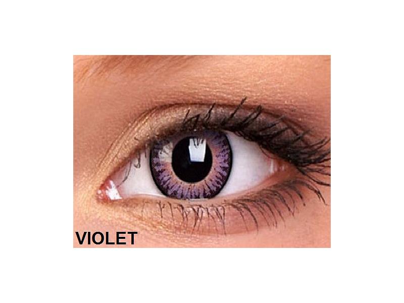 ColourVUE - 3 Tones - Brez dioptrije (2leči) - Violet