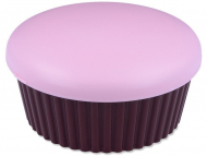 Škatlice za leče z ogledalom - Škatlica z ogledalom Muffin - roza
