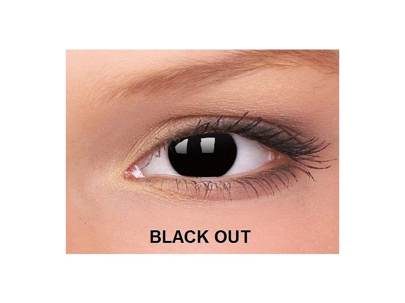 Crazy ColourVUE - Brez dioptrije (2leči) - Black Out