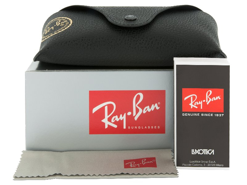 Ray-Ban JUSTIN RB4165 - 622/6G  - Preivew pack (illustration photo)
