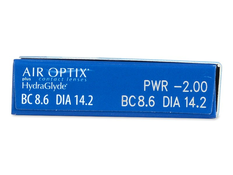 Air Optix plus HydraGlyde (3 leče) - Predogled lastnosti