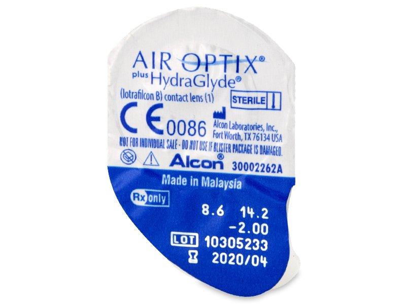Predogled blister embalaže - Air Optix plus HydraGlyde (3 leče)