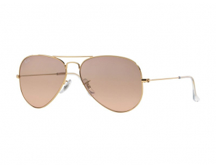 Moška sončna očala - Ray-Ban AVIATOR LARGE METAL RB3025 - 001/3E