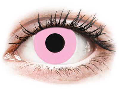 CRAZY LENS - Barbie Pink - dnevne leče brez dioptrije (2 leči)