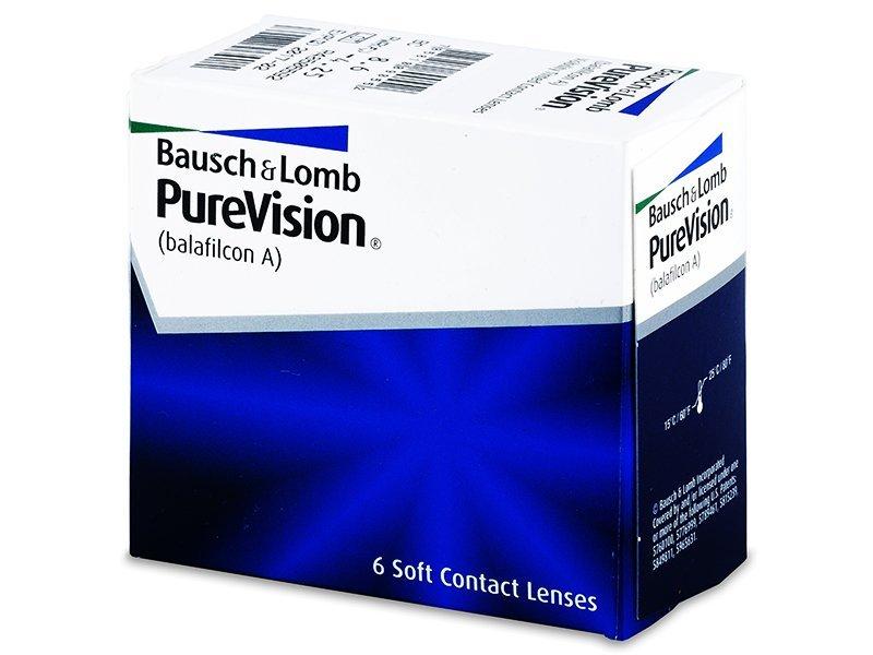 PureVision (6leč) - Mesečne kontaktne leče