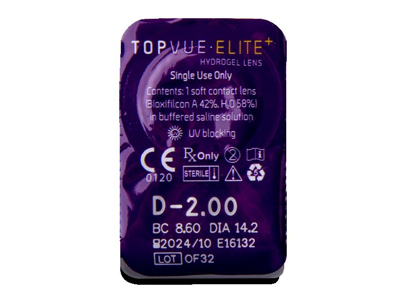 TopVue Elite+ (30 leč) - Predogled blister embalaže
