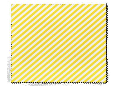 Čistilna krpica za očala - Rumeno bela