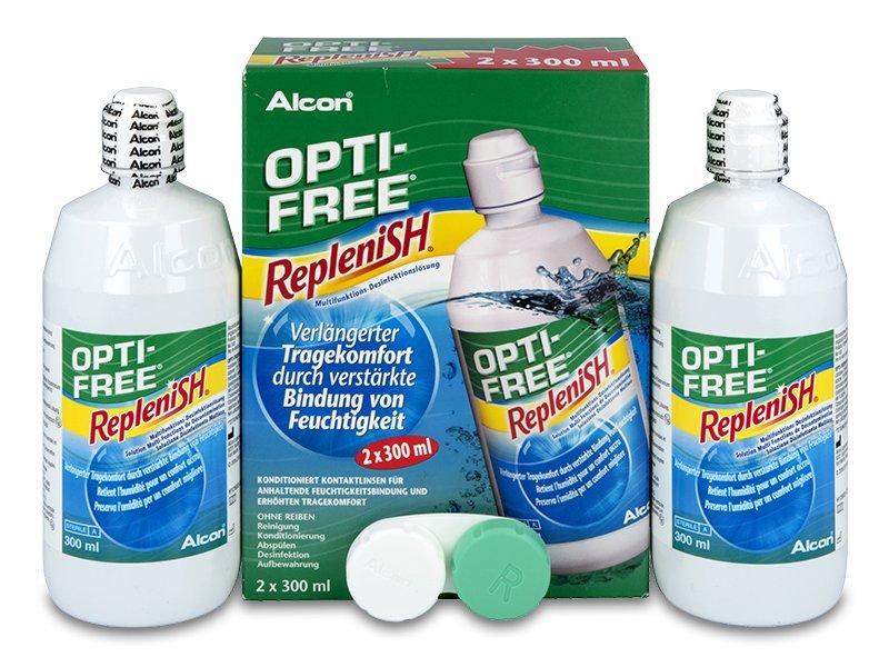 Tekočina OPTI-FREE RepleniSH 2x300ml