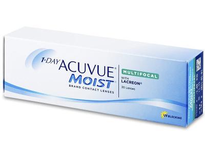 Torične kontaktne leče - 1 Day Acuvue Moist Multifocal (30 leč)